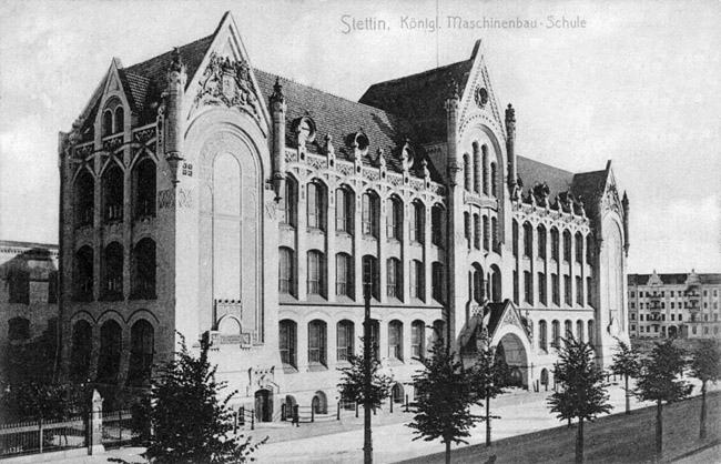 Royal School of Machine Construction Building, Szczecin